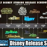 Disney's Movie Release Schedule for 2015 – 2016 Including Star Wars & Marvel. – VIDEO