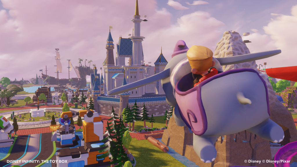 Disney Infinity Community Builds Disneyland Toy Box in Honor of Disneyland Resort Diamond Celebration