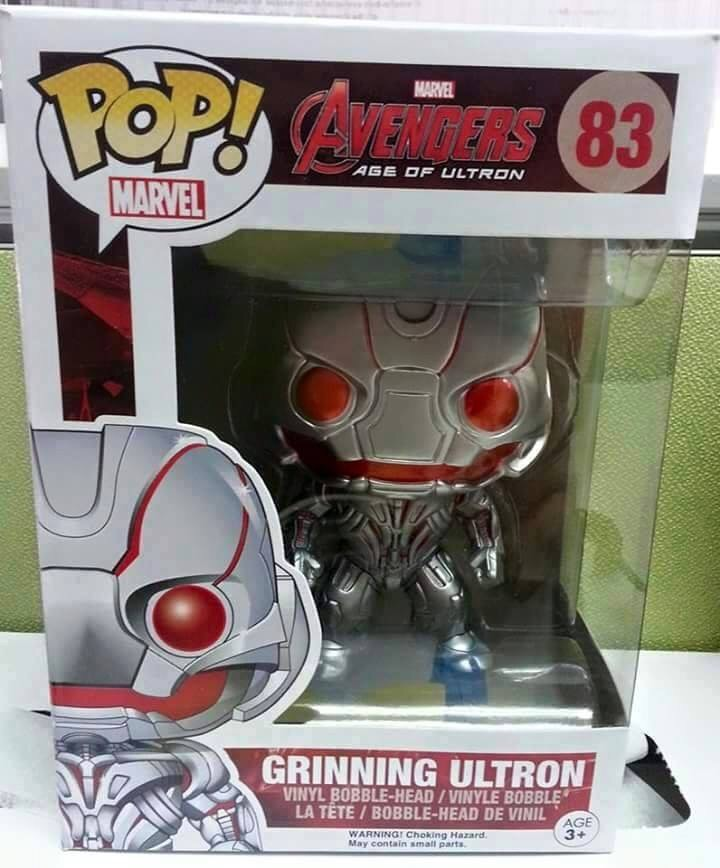 Possible Grinning Ultron Variant Pop Vinyl Discovered?