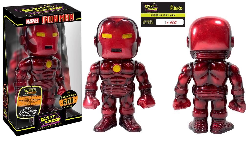 Details On Inferno Iron Man Hikari Figure