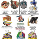 Details On Walt Disney World's May Pins