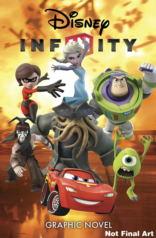 New Disney Infinity Graphic Novel Coming Soon
