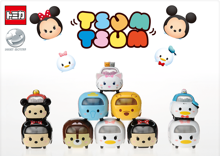 Tsum Tsum Die-cast Cars to be Released in Japan