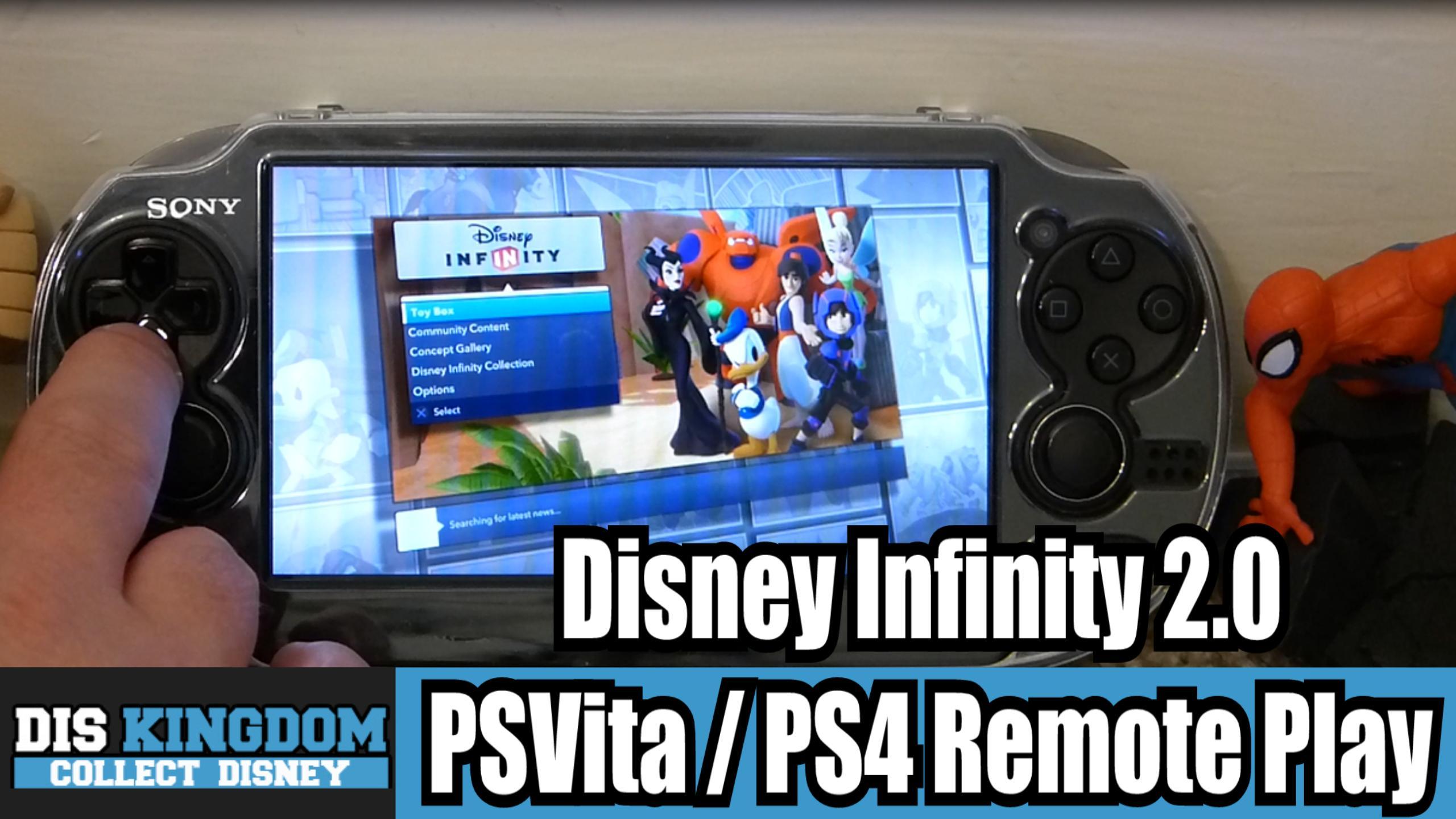 Disney Infinity 2 0 Ps Vita Ps4 Remote Play Details Diskingdom Com Disney Marvel Star Wars Video Game News
