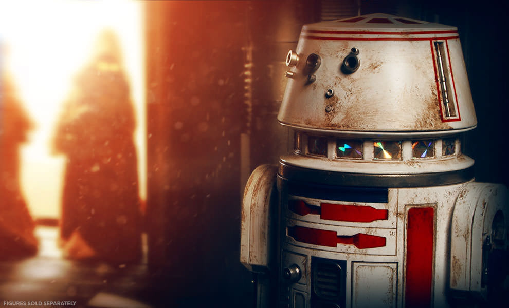 Details On R5-D4 Sixth Scale Figure by Sideshow Collectibles