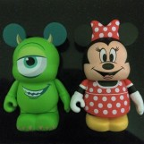 Minnie Mouse & Mike Wazowski Theme Park Favourite Vinylmations Discovered