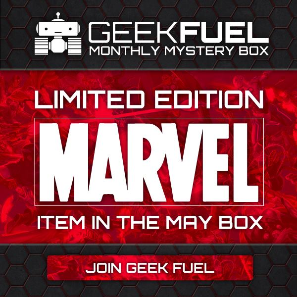Limited Edition Marvel Item In Next Geek Fuel Box