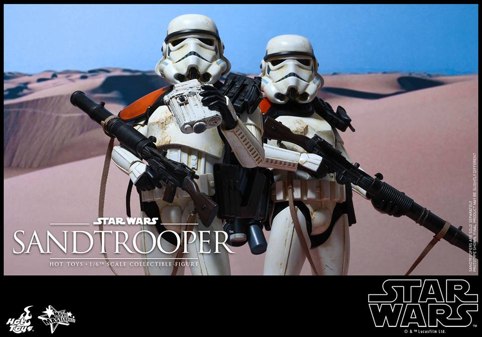 Details On Hot Toys 1/6th scale Star Wars Sandtrooper Collectible Figure