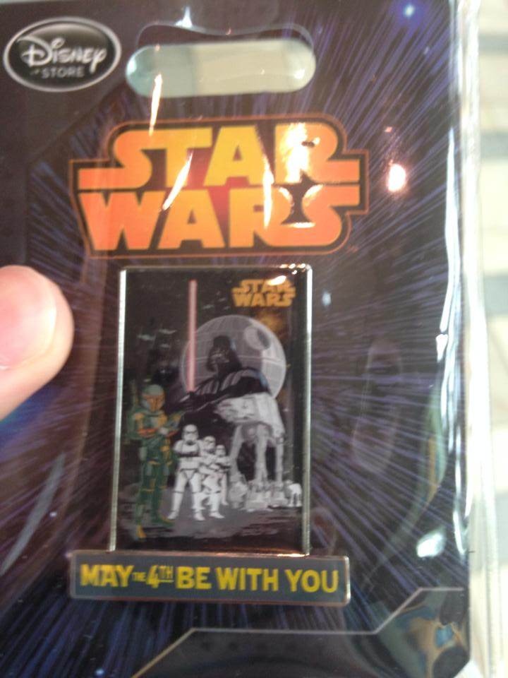 First Look At Disney Store May The Fourth Be With You Star Wars Pin