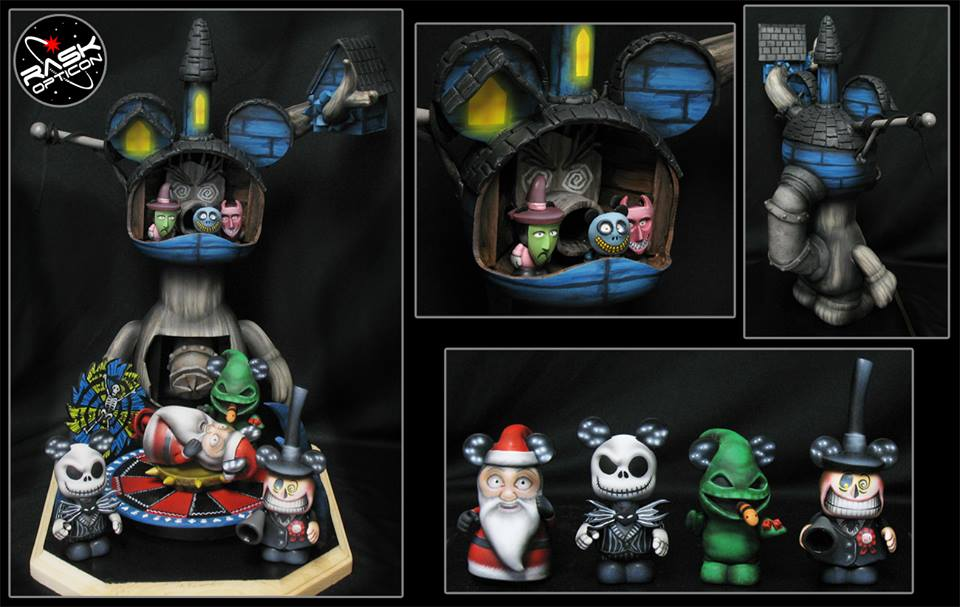 Custom Spotlight Rask Opticon S Oogie Boogie S Lair