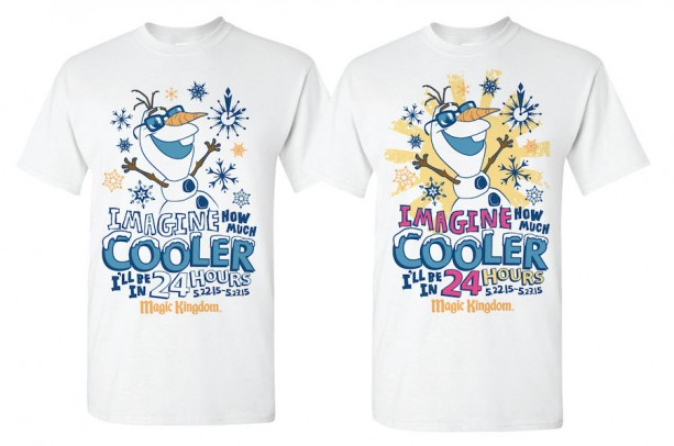 'Coolest Summer Ever' Commemorative Shirt Coming to Magic Kingdom Park for 24-Hour Party