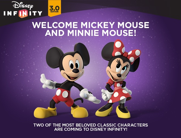 Details On Disney Infinity 3.0 Mickey and Minnie