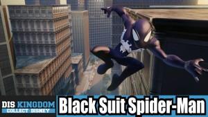 black suit spiderman gameplay