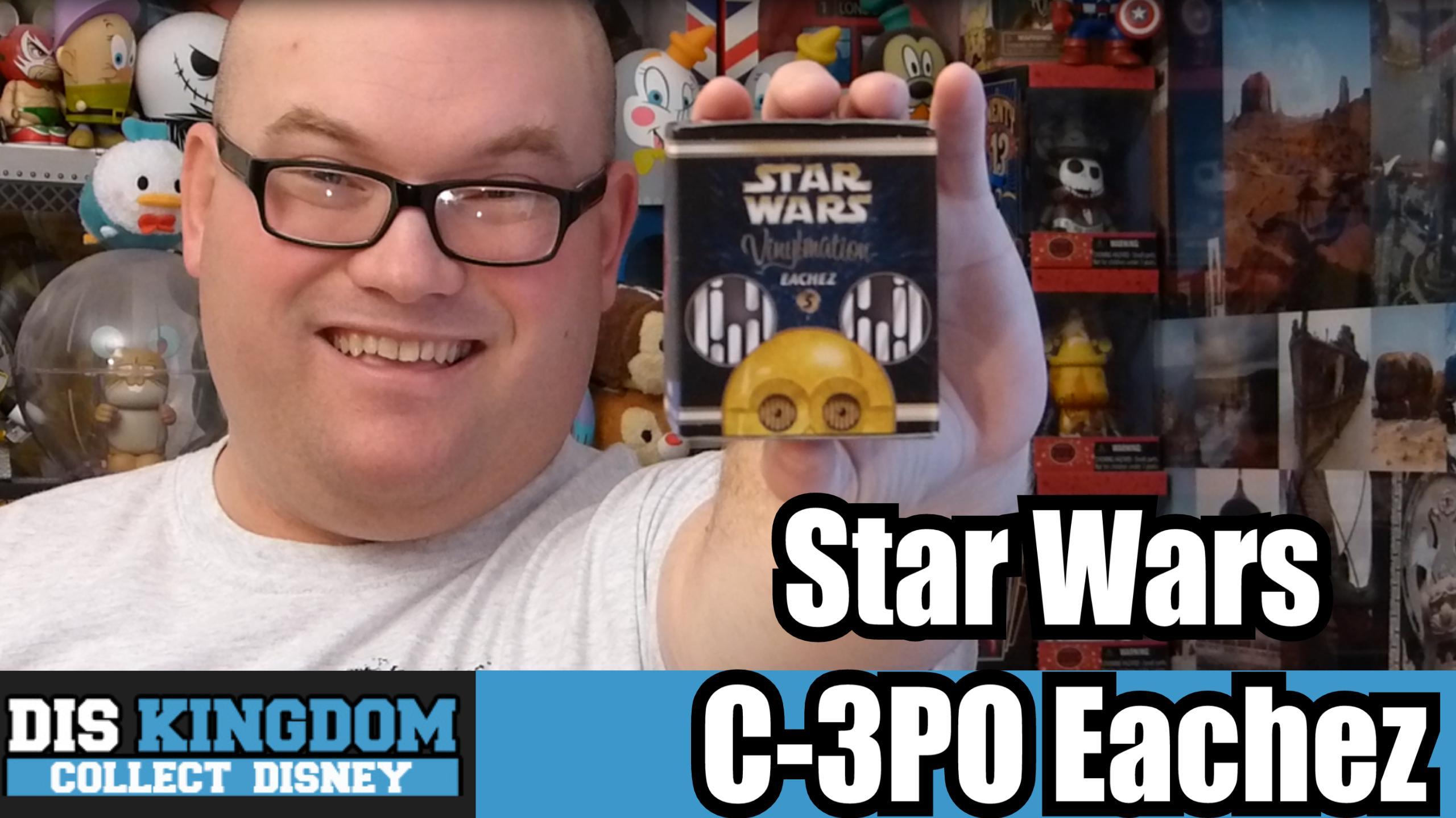 Star Wars C3PO Eachez Vinylmation Unboxing