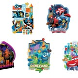"Disneyland ""Decades"" Pins & Other Merchandise Revealed"