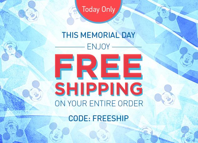 Free Shipping At DisneyStore.com