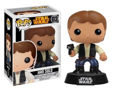Star Wars Han Solo Pop Vinyl Re-Released In September