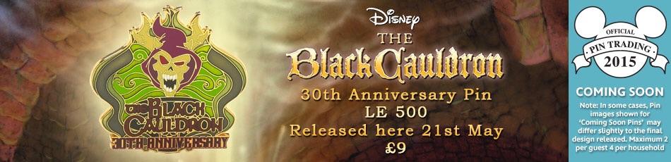 Details On New 30th Anniversary Black Cauldron Pin