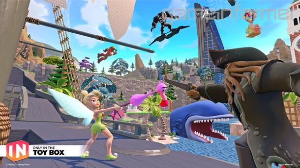 Details On Disney Infinity 3.0's Toy Box