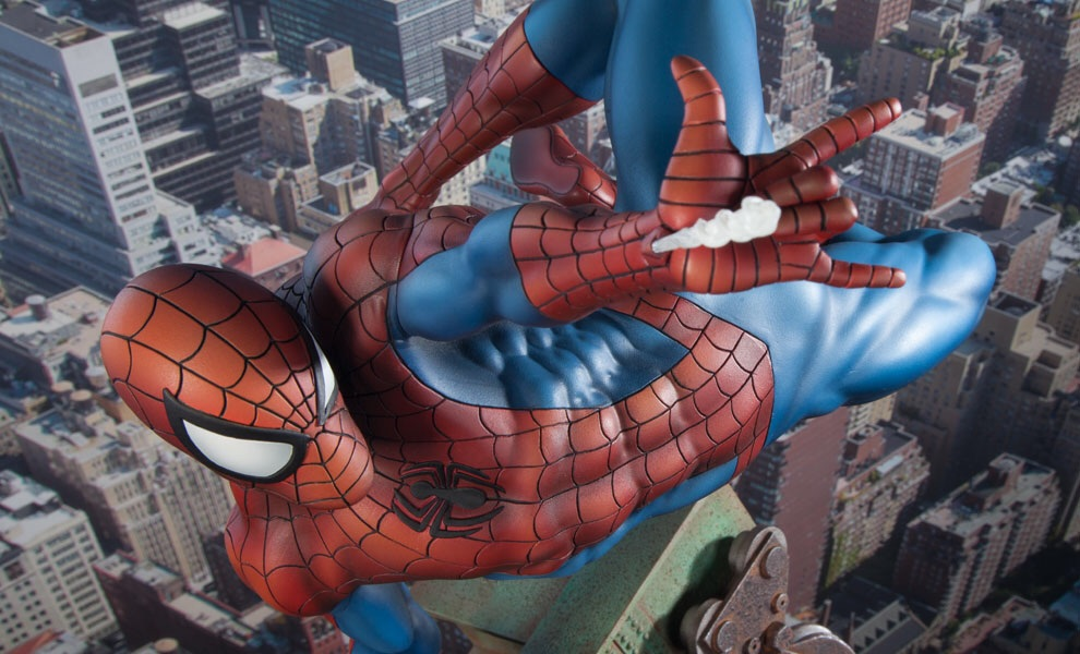 Spider-Man Statue Coming Soon From Sideshow Collectibles