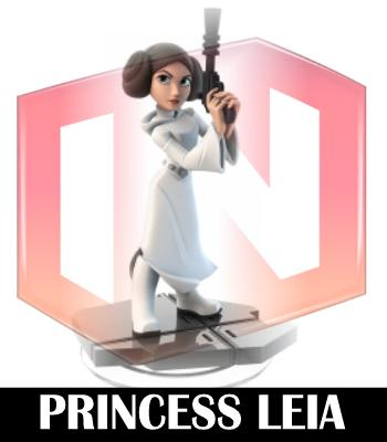 princess leia disney infinity