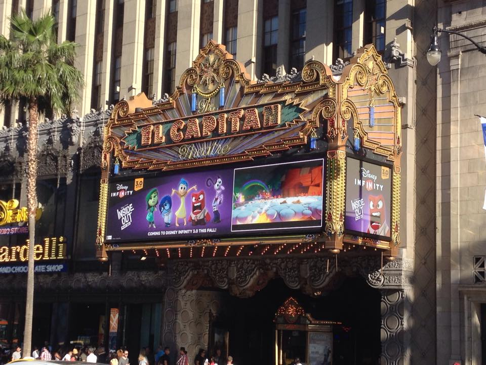 Disney Infinity Inside Out Early Movie Screening!