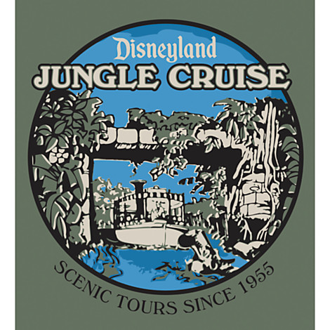 Disneyland Jungle Cruise Limited Release T-Shirts Out Now