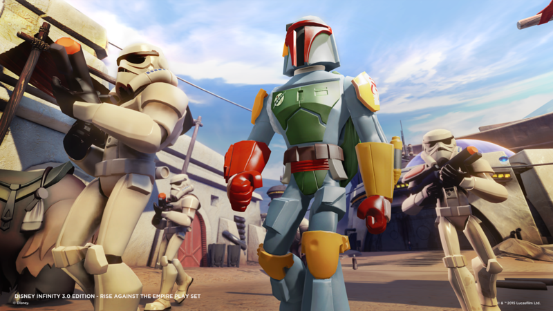 "First Look: Boba Fett Disney Infinity Figure ""Glam"" and Screenshots"
