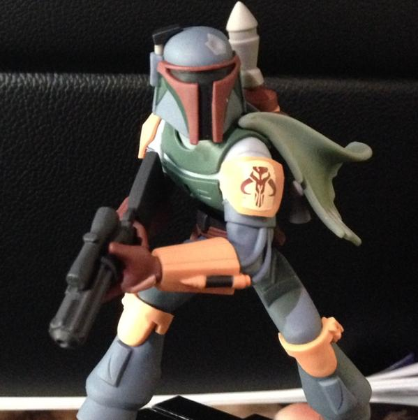 First Close-Up Look at Boba Fett Disney Infinity Figure