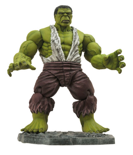 Marvel Select Savage Hulk Coming this Fall from Diamond Select