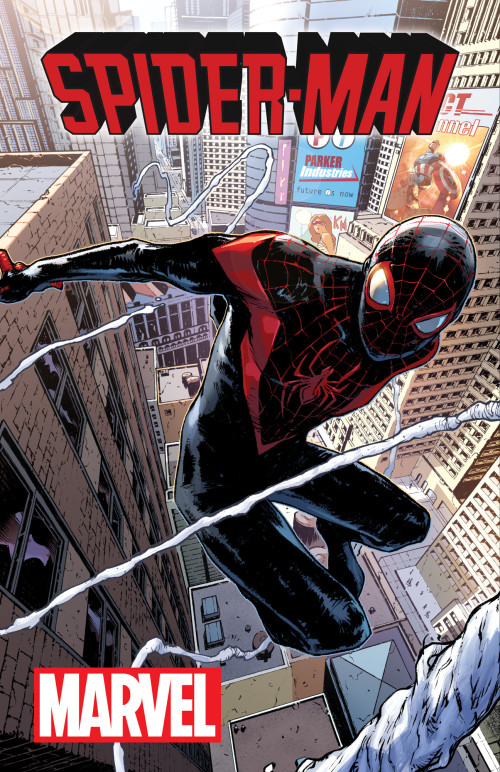 Miles Morales Braves A Whole New Universe in SPIDER-MAN #1!