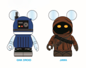 Star Wars Droid & Jawa Twin Pack & Rebels Inquisitor Vinylmation Out This Friday