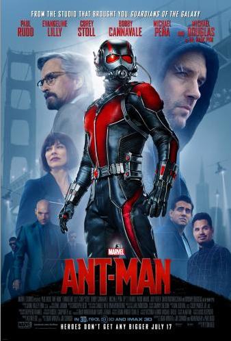 Marvel's Ant-Man Latest Trailer Released