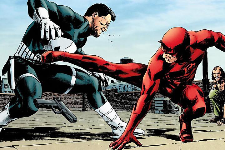 The Punisher Joins Daredevil Season 2