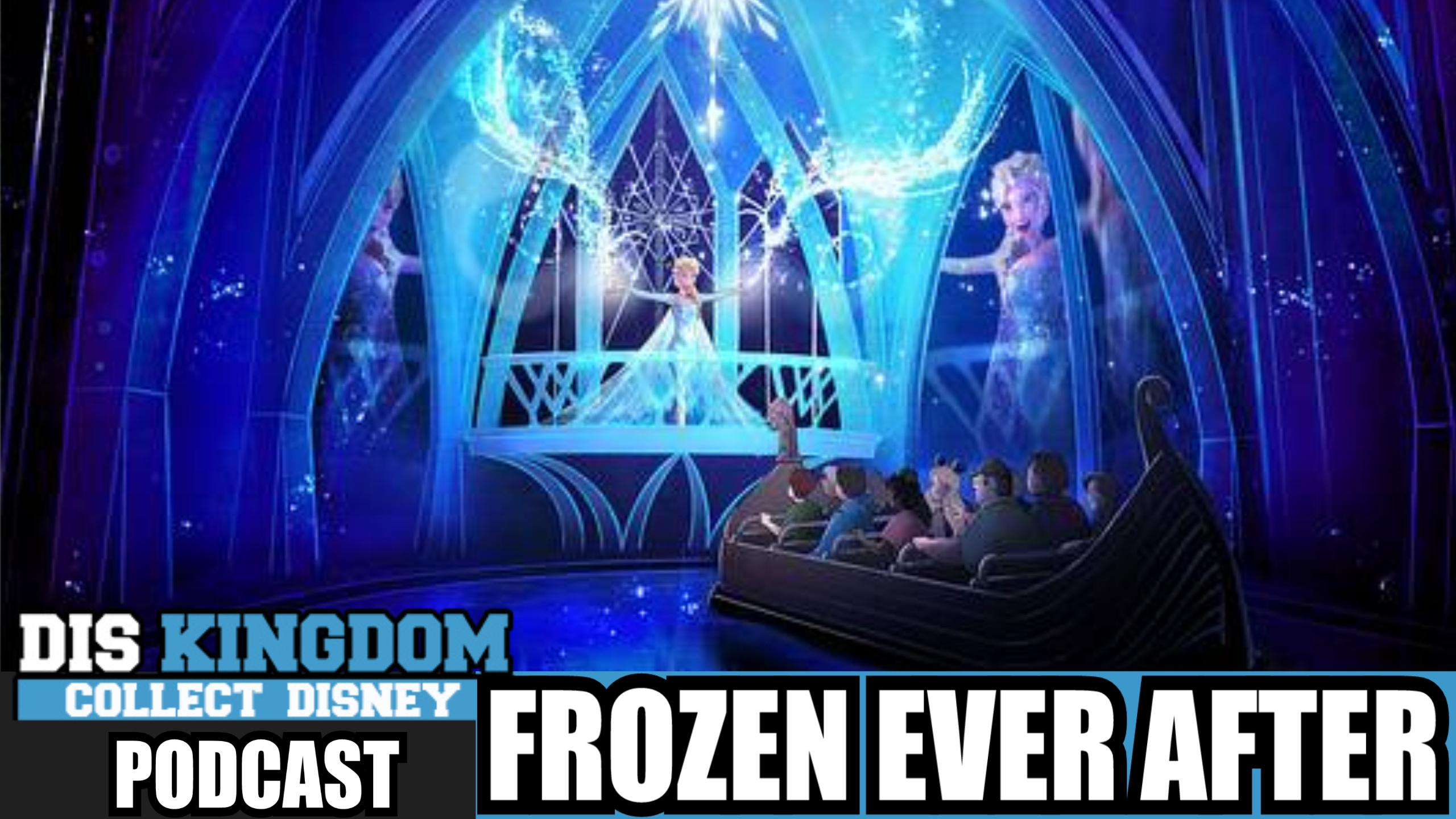 Frozen Ever After Coming To Epcot At Walt Disney World  – DK Podcast