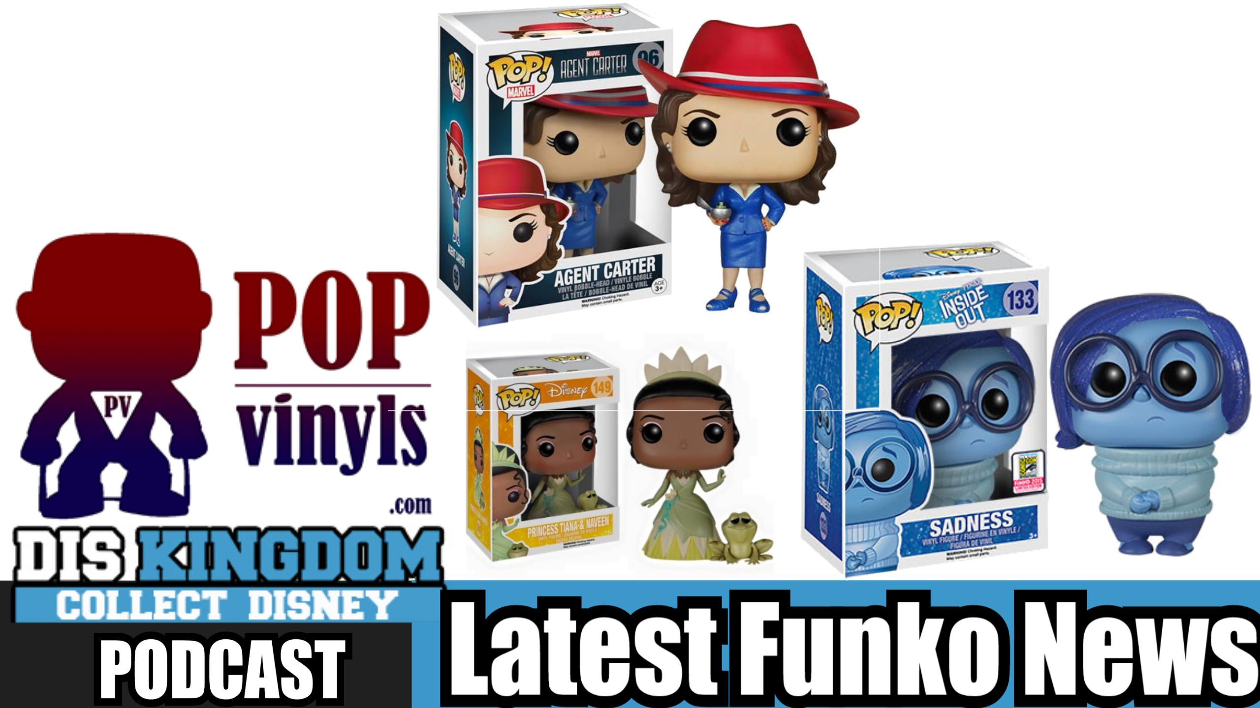 Latest Funko Pop Vinyl News Including Agent Carter, SDCC Exclusives & More