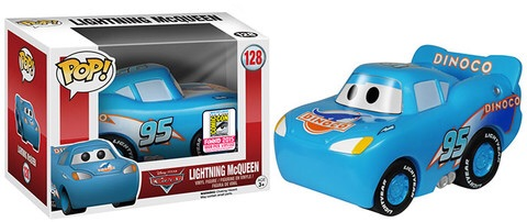Pop! Disney: Cars – Dinoco Lightning McQueen Coming To SDCC