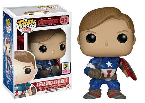 Avengers: Age of Ultron – Captain American Unmasked Pop Vinyl Coming To SDCC