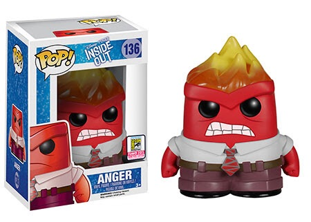Inside Out Anger Variant Pop Vinyl Coming To SDCC