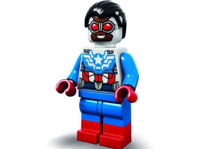 LEGO Captain America Minifigure Exclusive To SDCC
