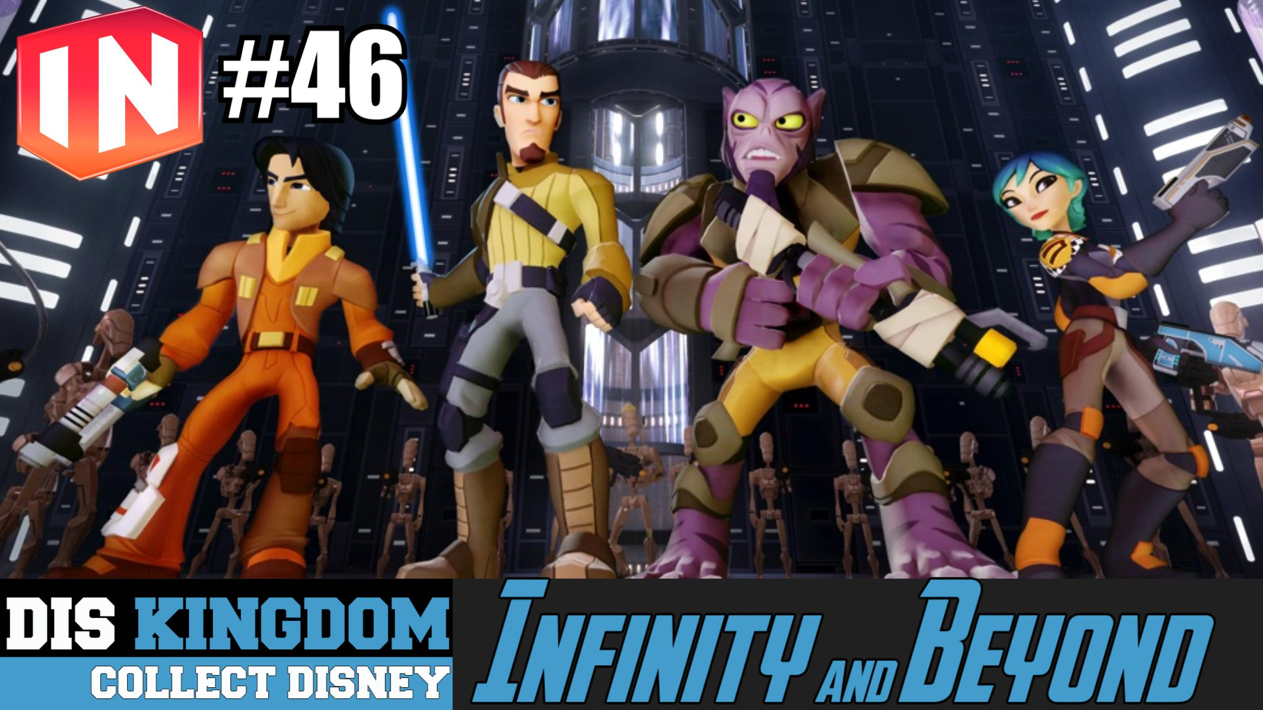 Disney Infinity 3 0 Beyond 46 E3 Star Wars Rebels Inside Out Much More Diskingdom Com Disney Marvel Star Wars Merchandise News
