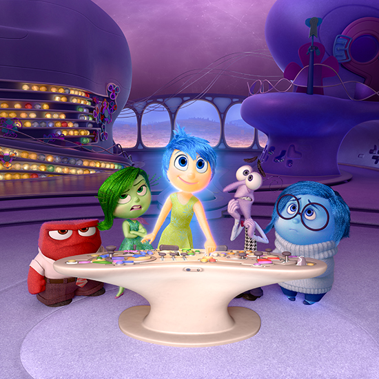 The Emotions of 'Inside Out' Come to Disney California Adventure Park June 19