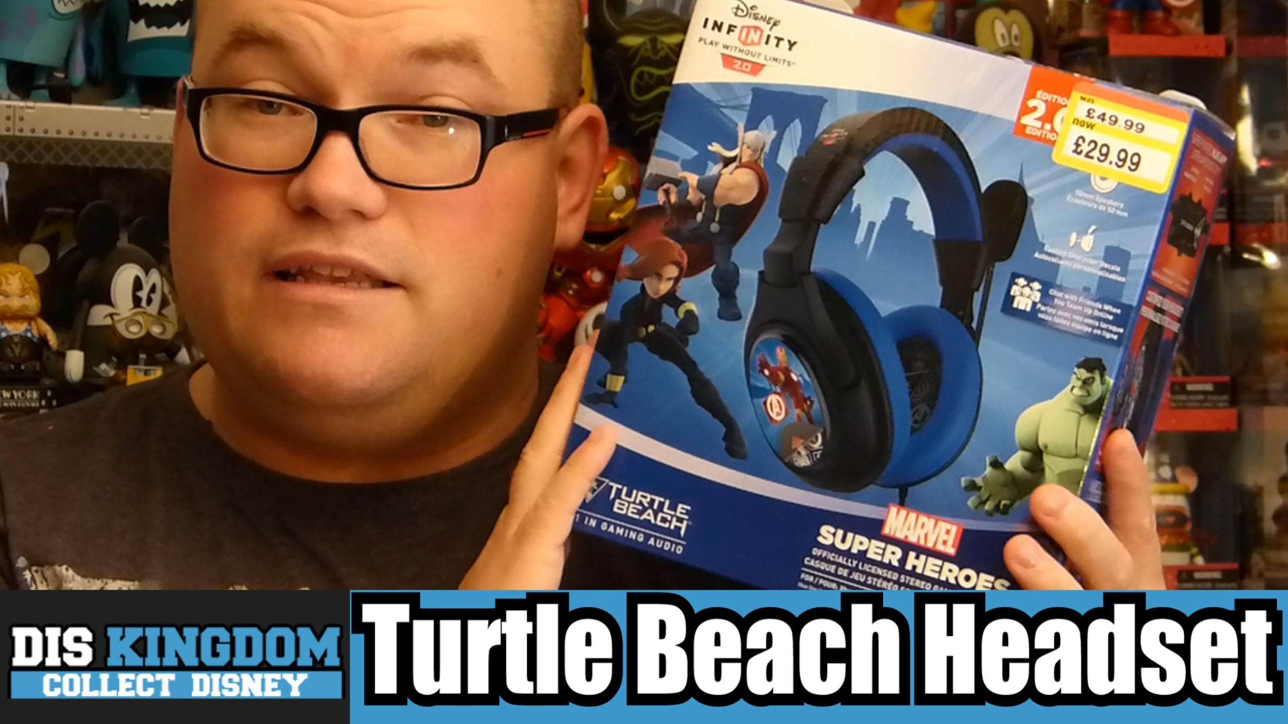 Disney Infinity 2.0 Turtle Beach Headset Unboxing Review
