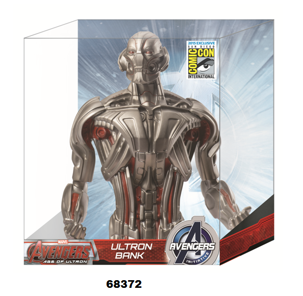Details On A SDCC Exclusive Avengers 2- Ultron Bust Bank