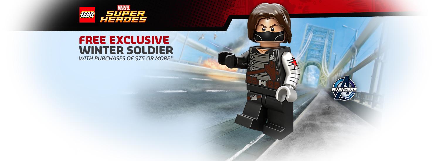 Details On Free Winter Solider (5002943) LEGO Set