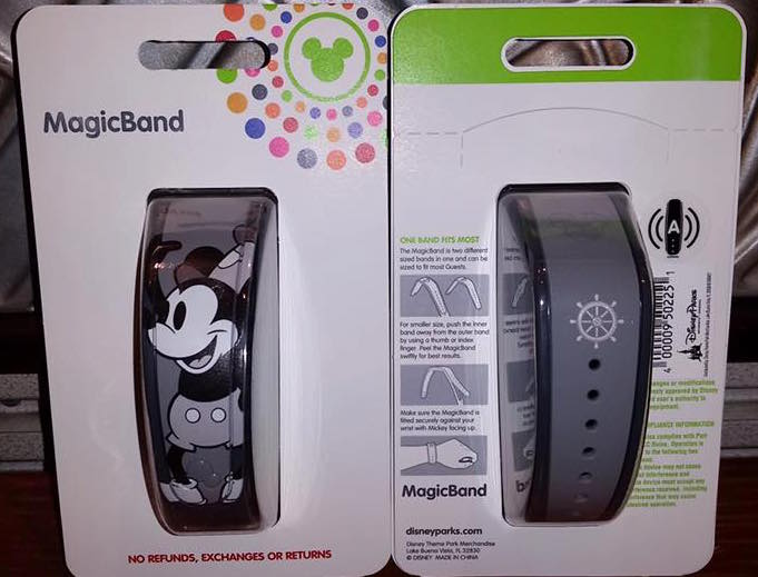 New Steamboat Mickey MagicBand Out Now