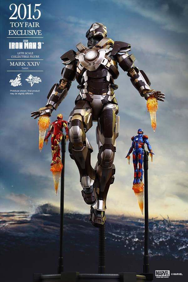Details On Iron Man Mark XXIV Tank Hot Toys Collectible