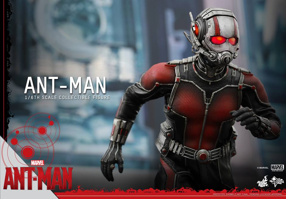 Details On Ant-Man Collectible Figure From Hot Toys