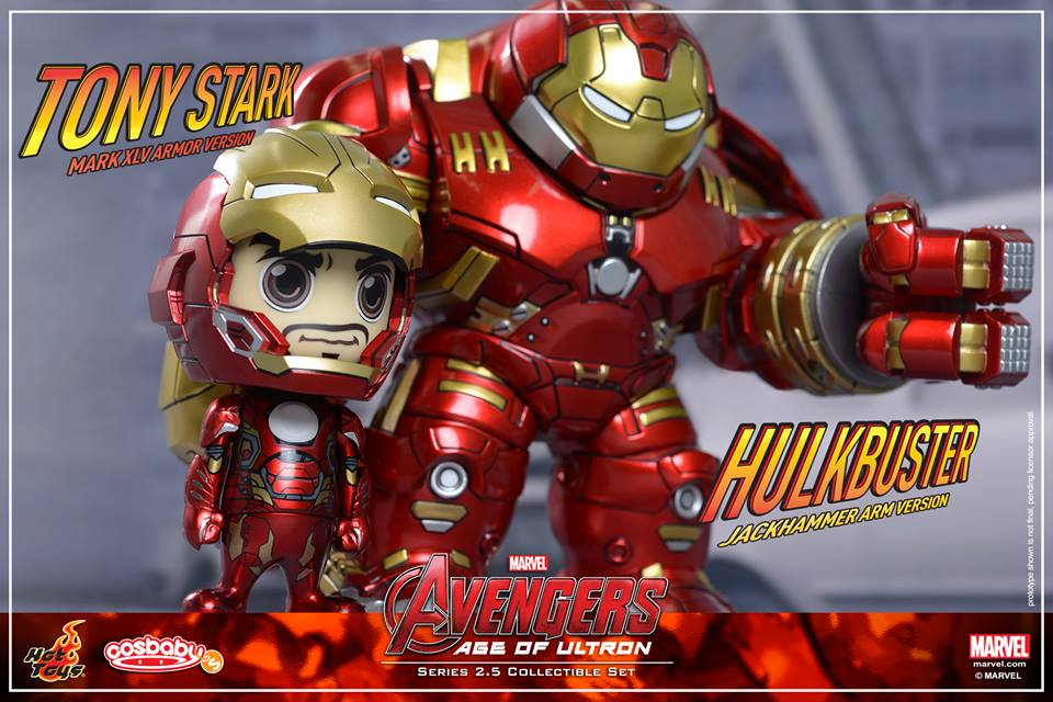 Details On Hot Toy's Iron Man Cosbaby Figures