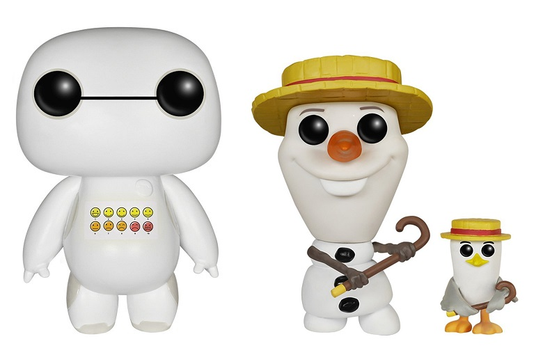 Convention Exclusive Emoticon Baymax and Barbershop Olaf Released on Amazon